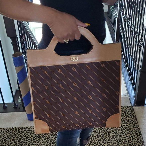 Gucci Handbags - Vintage Gucci Shopper Tote Handbag